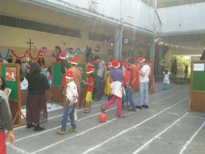 Christmas fun fair